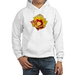 Prickly Pear Flower Hooded Sweatshirt