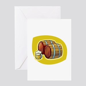 barrels Greeting Card