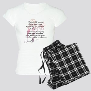 Jane Eyre Quote Women's Light Pajamas