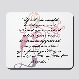 Jane Eyre Quote Mousepad