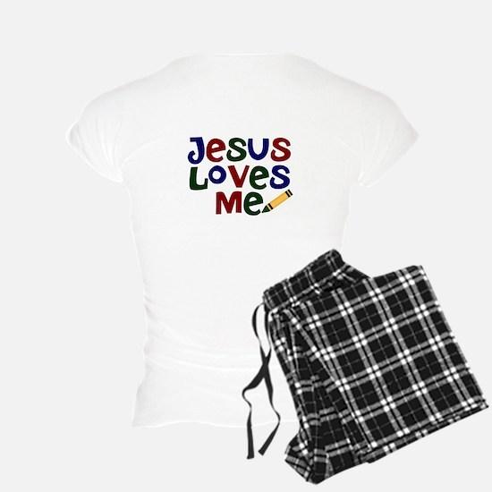 I Love Jesus/Jesus Loves Me Pajamas