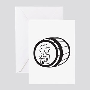 barrel Greeting Card