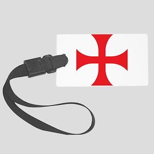 Knights Templar Large Luggage Tag