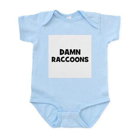 Damn Raccoons Infant Creeper
