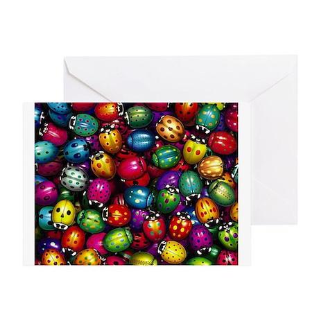 Ladybugs Greeting Card