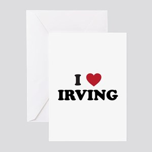 I Love Irving Greeting Cards (Pk of 20)