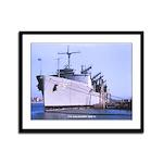 USS KALAMAZOO Framed Panel Print