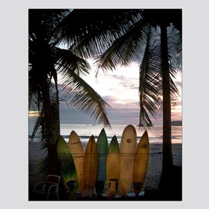 Surf Costa Rica Small Poster