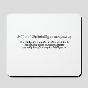 artificial un intelligence Mousepad