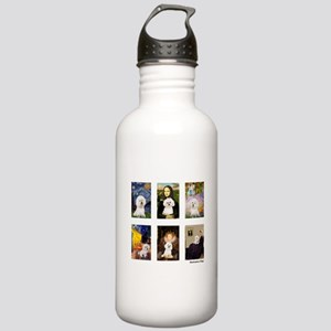 Famous Art Bichon (clr) Stainless Water Bottle 1.0