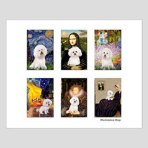 Famous Art Bichon (clr) Small Poster