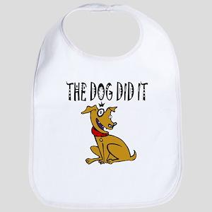 Dog Did It Bib