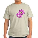 2 Pink Cactus Flowers Light T-Shirt