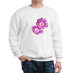 2 Pink Cactus Flowers Sweatshirt
