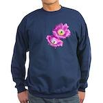 2 Pink Cactus Flowers Sweatshirt (dark)