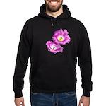 2 Pink Cactus Flowers Hoodie (dark)