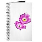 2 Pink Cactus Flowers Journal