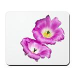 2 Pink Cactus Flowers Mousepad