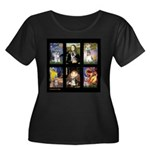 FamourArtSchnauzers 1 Women's Plus Size Scoop Neck
