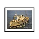 USS KLONDIKE Framed Panel Print