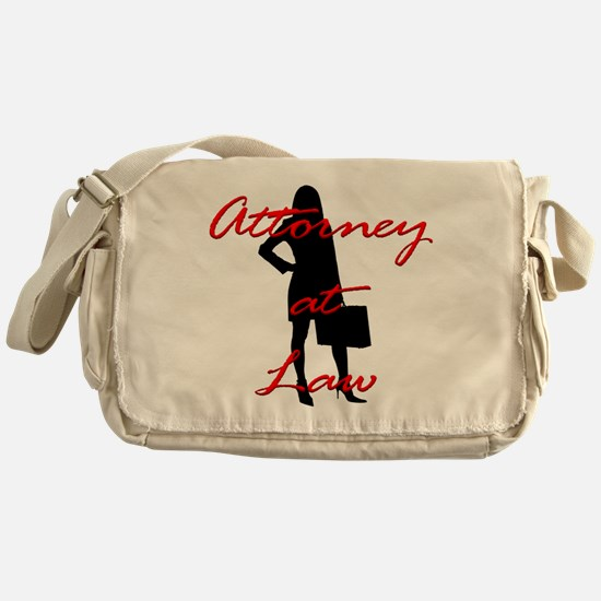 Attorney at Law Messenger Bag