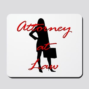 Attorney at Law Mousepad