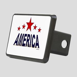 America Rectangular Hitch Cover