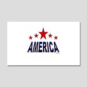 America Car Magnet 20 x 12