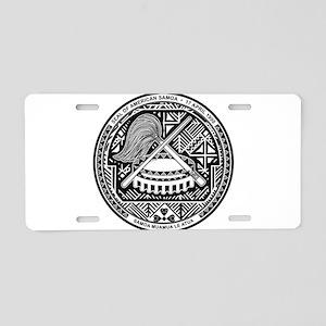 American Samoa Coat Of Arms Aluminum License Plate