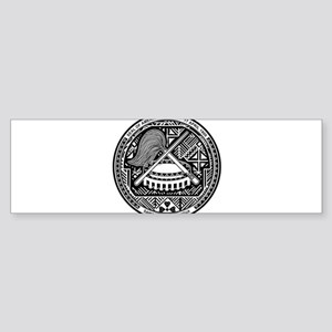 American Samoa Coat Of Arms Sticker (Bumper)
