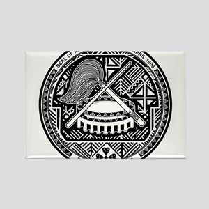 American Samoa Coat Of Arms Rectangle Magnet