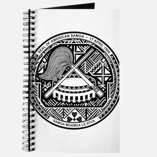 American Samoa Coat Of Arms Journal