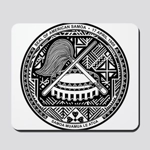 American Samoa Coat Of Arms Mousepad