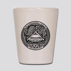 American Samoa Coat Of Arms Shot Glass