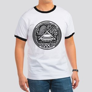 American Samoa Coat Of Arms Ringer T
