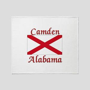 Camden Alabama Throw Blanket