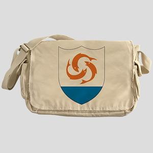 Anguilla Coat Of Arms Messenger Bag
