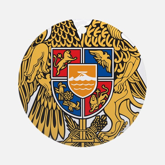 Armenia Coat Of Arms Ornament (Round)