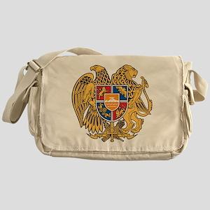 Armenia Coat Of Arms Messenger Bag