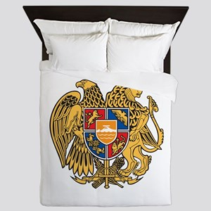 Armenia Coat Of Arms Queen Duvet