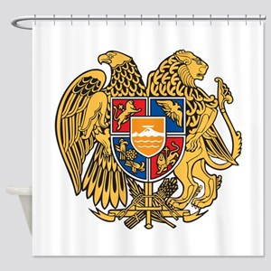 Armenia Coat Of Arms Shower Curtain