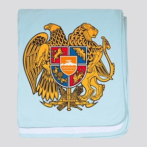 Armenia Coat Of Arms baby blanket