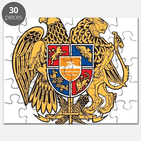 Armenia Coat Of Arms Puzzle