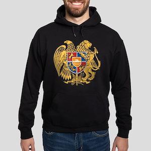 Armenia Coat Of Arms Hoodie (dark)