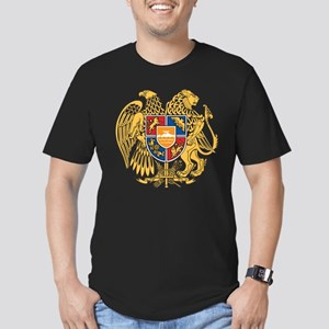 Armenia Coat Of Arms Men's Fitted T-Shirt (dark)