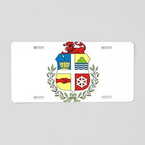 Aruba Coat Of Arms Aluminum License Plate