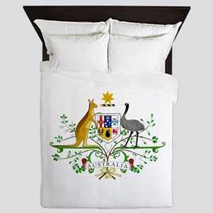 Australia Coat Of Arms Queen Duvet