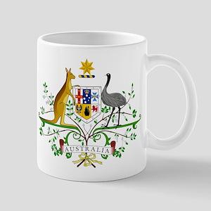 Australia Coat Of Arms Mug