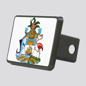 Bahamas Coat Of Arms Rectangular Hitch Cover