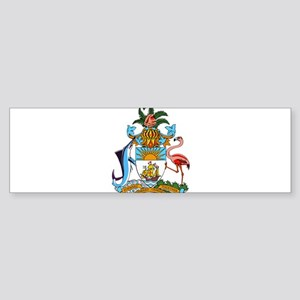 Bahamas Coat Of Arms Sticker (Bumper)